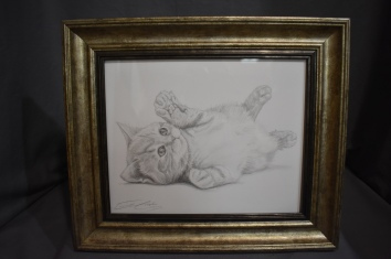Original graphite drawing 100.00$ Prints 15.00 Unframed Framed 30.00$