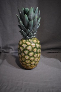 Life sized pineapple commission