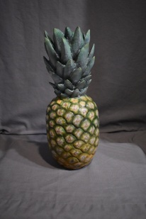 Life sized pineapple commission.