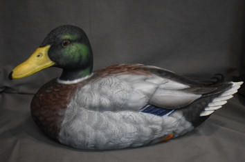Mallard Drake wood carving 400.00$